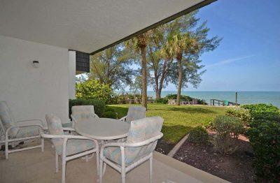 Florida Gulf Coast Condo Rentals - view from lanai